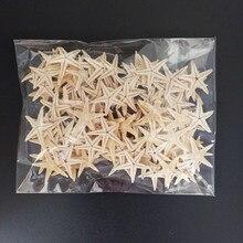 Conchas do mar tamanho: mini arranjo de estrelas para casamento, decoração artesanal de starfish, estrelas naturais do mar, faça você mesmo, decoração de casa, casamento, 1.8-3cm 100 peças