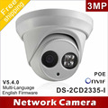Free shipping New model DS-2CD2335-I replace DS-2CD2332-I 3mp array 30m IR Network Dome security ip camera H265
