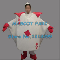 High Quality Playing Cards Mascot Costume Adult Size Customizable Cartoon Poker CARDS Theme Carnival Fancy Dress