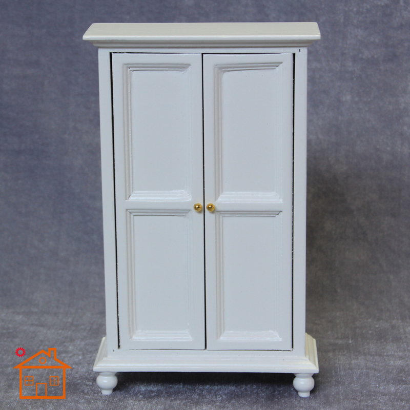 US $20.9  High Quality Doll House Miniature Chinese Classical Wardrobe Mini  Cabinet Bedroom Furniture Kits Home & Living 1:12 Scale-in Doll Houses ...