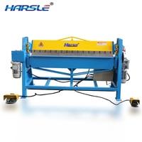 electric steel folding machine/steel sheet metal bender/duct folding equipment