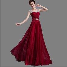 Vestido de festa importierte formal mutter der braut abendkleider lange chiffon perlen robe de soiree abendkleider 2015 kleid