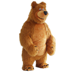 Image 2 - New Arrival 2M 2.6M 3M Inflatable Bear Costume For Advertising Customize Bear Inflatable Mascot Halloween Costume For Adult