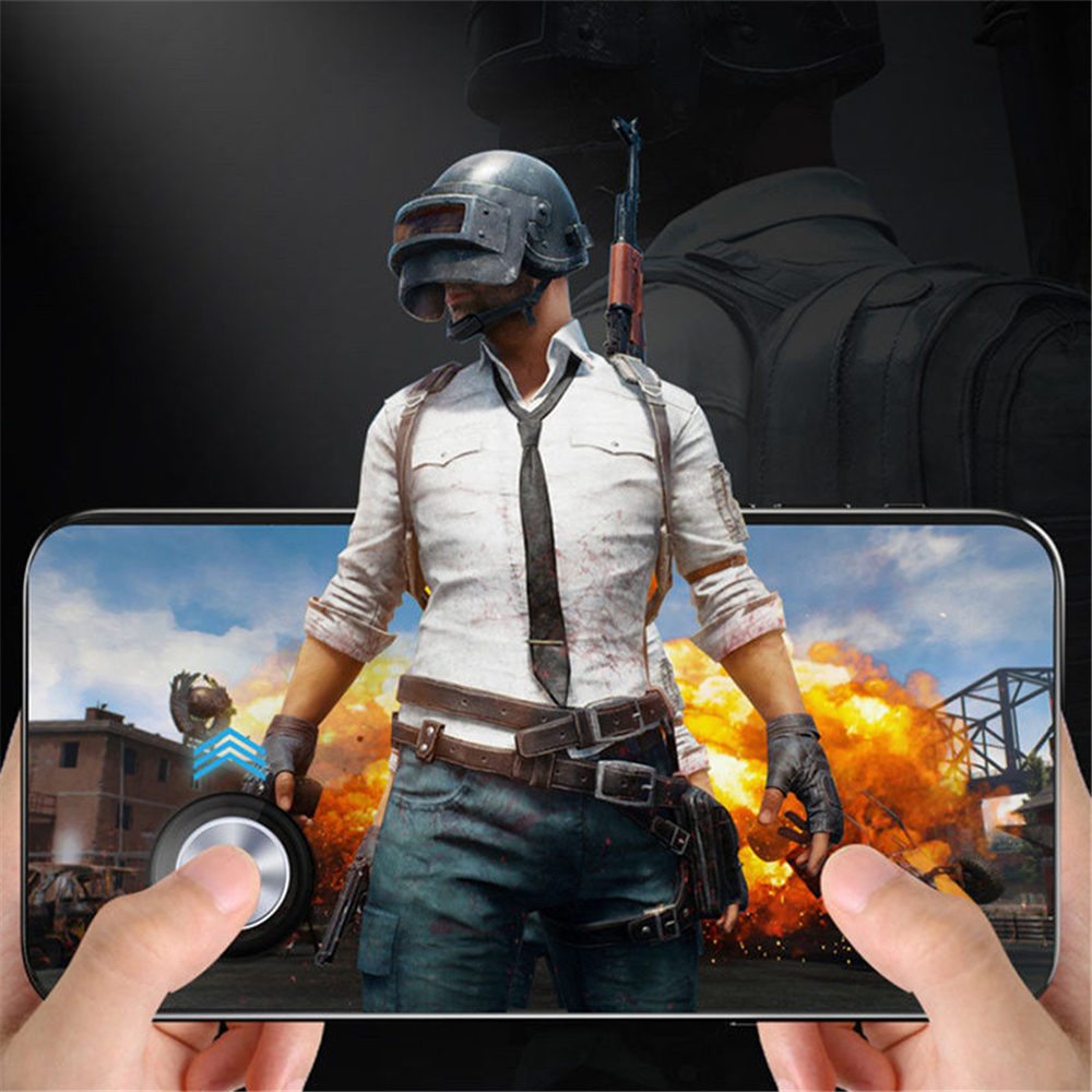 1PCS Round Game Joystick Mobile Phone Rocker for iPhone Android Tablet ABS Button Controller for PUBG image