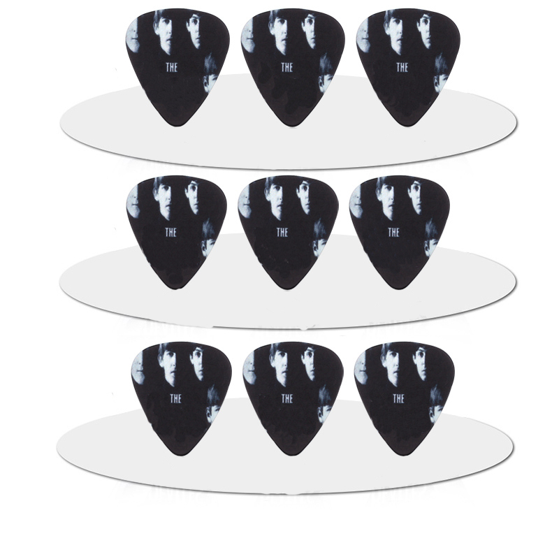 SOACH 10pcs 1mm/0.71mm New arrived two sides guitar pick High quality PVC guitar pick accessories