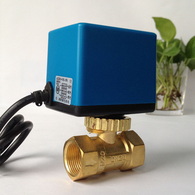 Switch electric two way valve three way valve central air
