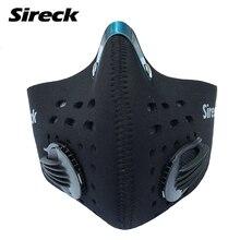 Half-поверхности mascarilla polvo sireck фильтром подготовка ciclismo углерода тушь велоспорт маска