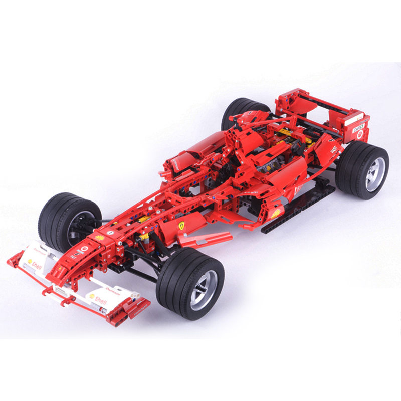 Decool 3335 F1 Racer building bricks blocks Toys for children Game Car Compatible with Lepin Bela 8674