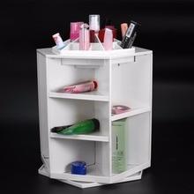 360 Degree Rotation Rotating Make up Organizer Cosmetic Display Brush Lipstick Storage Stand Cosmetic Accessories