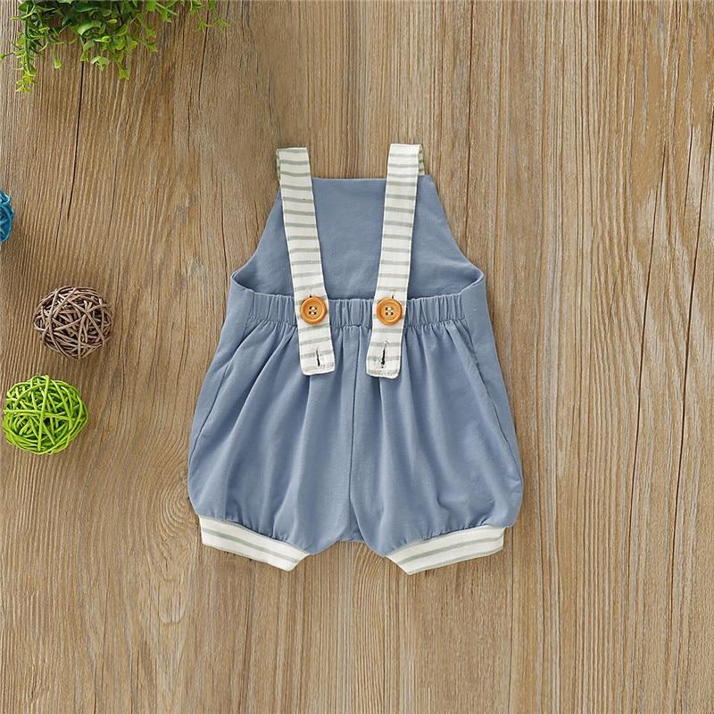 HTB17ic0X.GF3KVjSZFmq6zqPXXaq Fashion Baby Boy Girls Striped Romper Summer Toddler Cute Sleeveless Backless Jumpsuits Kid Lovely Unisex Newborn Infant Clothes