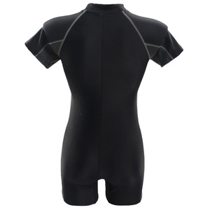 Image 5 - SeaBbot Swimsuit One Piece Swimwear Sport Professional Neck to Knee Competition Zipper Swimsuit Sexy Racing Suit women 81103