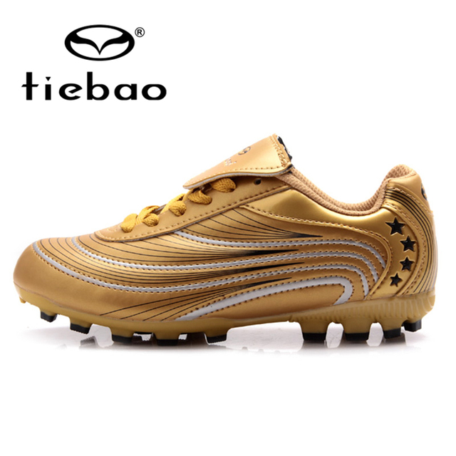 ff4b5d54014 TIEBAO Professional Children Kids FG   HG   AG Soles Football Boots Outdoor  Soccer Shoes Kids