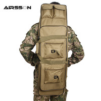 1M 600D Outdoor Tactical Gun Bag With Shoulder Strap Riflescope Pack Square Carry Bag Protection Case