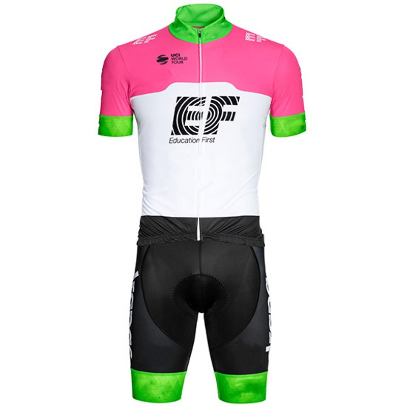 все цены на 3 pockets 2018 pro tour Team ef Cycling skinsuits bike clothing aero bodysuit MTB Ropa Ciclismo Bicycle maillot jersey speedsuit