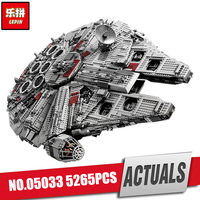 LEPIN 05033 5265Pcs Star Wars Ultimate Collector S Millennium Falcon Model Building Kits Blocks Bricks Children