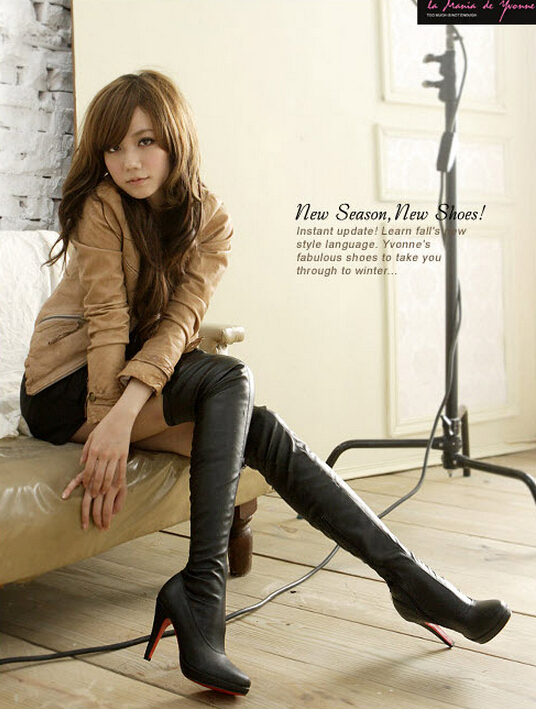 Black Women In Boots - Boot Ri