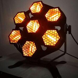 Image 4 - Nuovo 7X100W Retrò Flash Proiettore di Luce Laser Della Fase del Laser Della Luce di Musica Laser Decorazioni di Luce Della Discoteca del DJ Xmas Party Club Lights