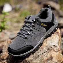 Hotsell Man Outdoor Hiking Shoes Waterproof fishing Athletic Trekking Boots Men's Climbing Walking Sneskers SIZE 39-44