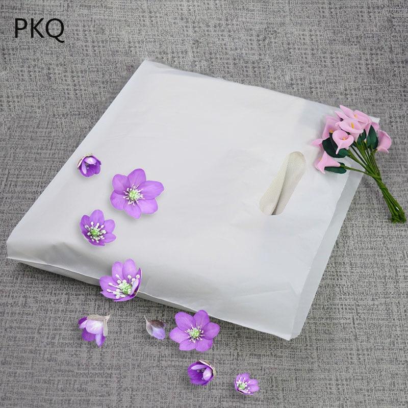 White Plastic Shopping Bags