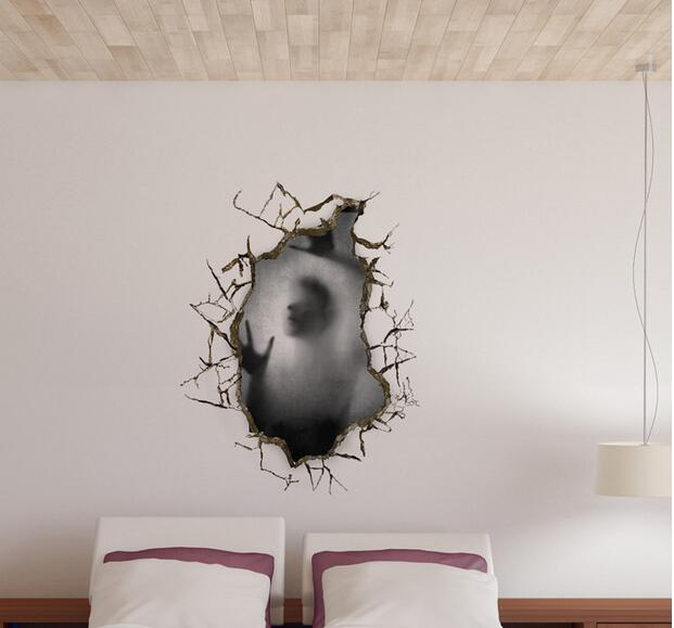 3d wall sticker home wall painting hotels wallpaper bedroom three