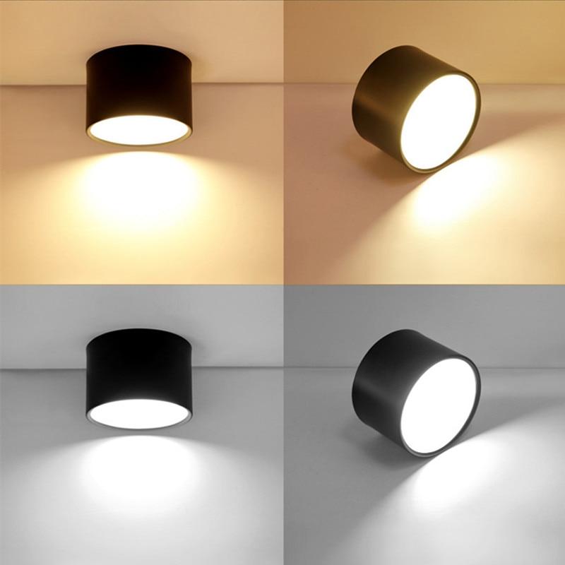 Modernistisk Dimmable Downlight Spot Led Panel Ceiling Lights AC110V 220V JP-07