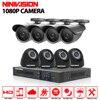 HD 8Channel Home Surveillance System 1920 1080P 8CH AHD DVR Kits 2 0MP 1080P 3000TVL CCTV
