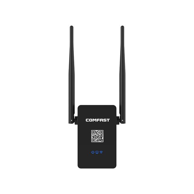 Router wifi Repetidor inalámbrico 750 mbps router wifi COMFAST Doble Banda repetidor de Señal wifi Booster 802.11 ac 2.4G + 5 GHZ UE/EE.UU. plug