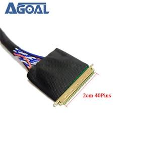 Image 3 - Đa Năng 1 Ch 8 Bit 40 Chân 40 Pin Đơn 8 LVDS Cáp Cho Laptop Notebook Bảng LED Ma Trận màn Hình