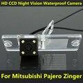 Para mitsubishi l200 pajero zinger v3 v5 v6 v8 v93 v97 Visão CCD Noite de Backup Visão Traseira do carro Da Câmera À Prova D' Água Estacionamento Assistência