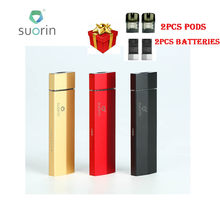 Newest Original Suorin Edge Case with 2 Removable Batteries 230mAh & Draw Activated Firing E-cig Vape Suorin Edge Case Vape Kit(China)