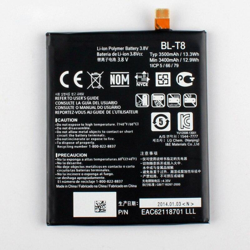 Original Bateria para LG G Flex F340S BL-T8 D950 D955 D958 D959 LS995 BLT8