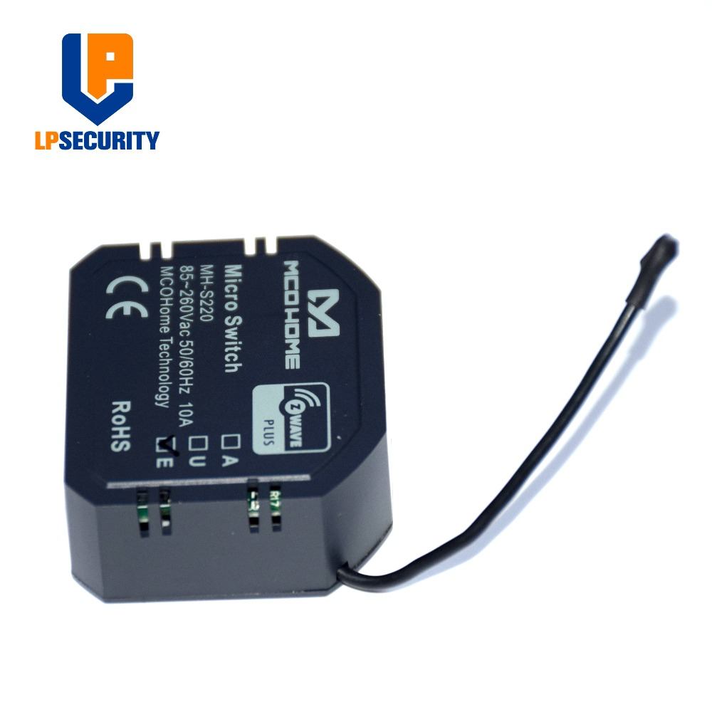Image 5 - MCOHOME  Z Wave Plus enabled Micro ON/OFF Switch MH S220 support  high load-in Building Automation from Security & Protection