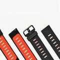 Original xiaomi huami amazfit reemplazo de la correa de silicona pulsera de silicona para amazfit smart watch pulsera de gel de sílice banda