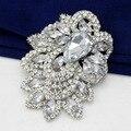 Star Jewelry Огромный Размер Элегантный Ясно Rhinestone Кристаллическое Diamante Большой Подарок Свадебный Брошь Для Свадьбы и Партии