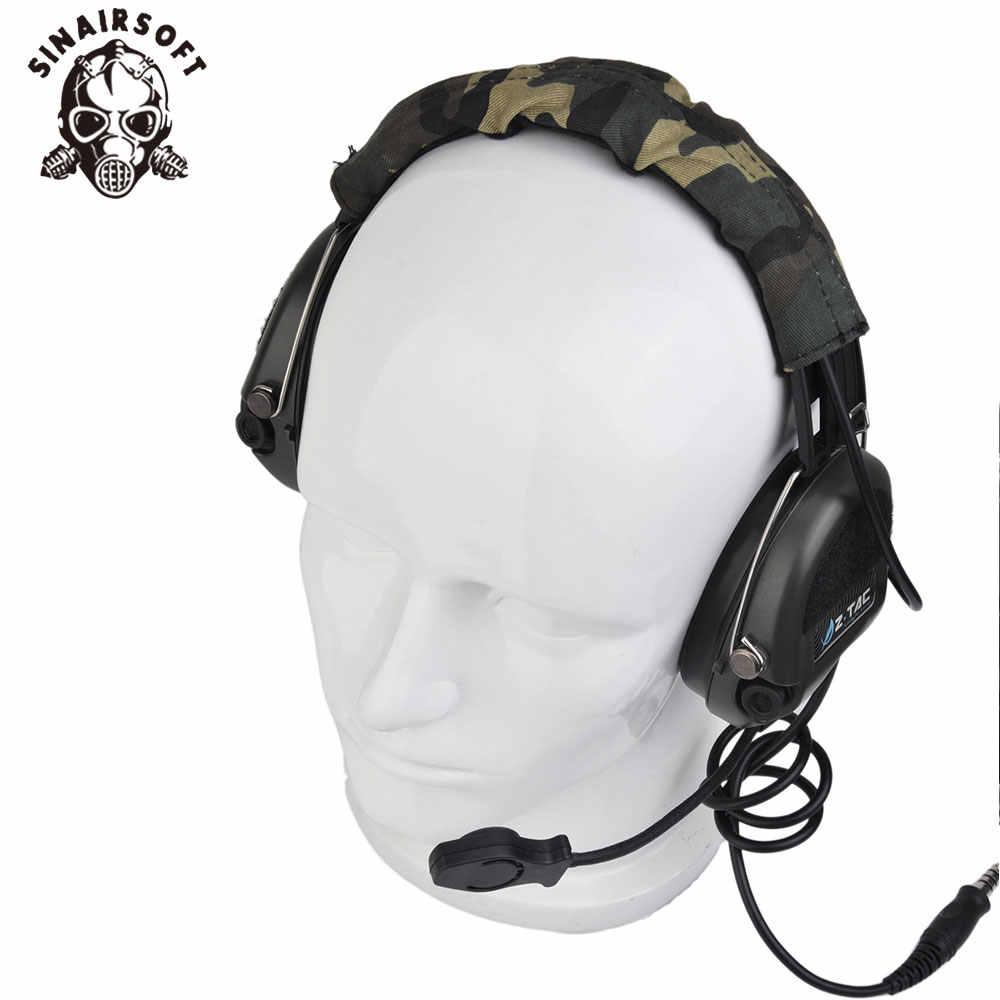 SINAIRSOFT Z111 Z тактическая гарнитура (официальная версия) Анти-шум гарнитура Sordin двухстороннее радио военный Пейнтбол охотничья голова