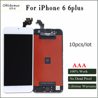 Mobymax 10pcs Ecran For IPhone6 6 Plus LCD Display Touch Glass Screen Digitizer Assembly Replacement Factory