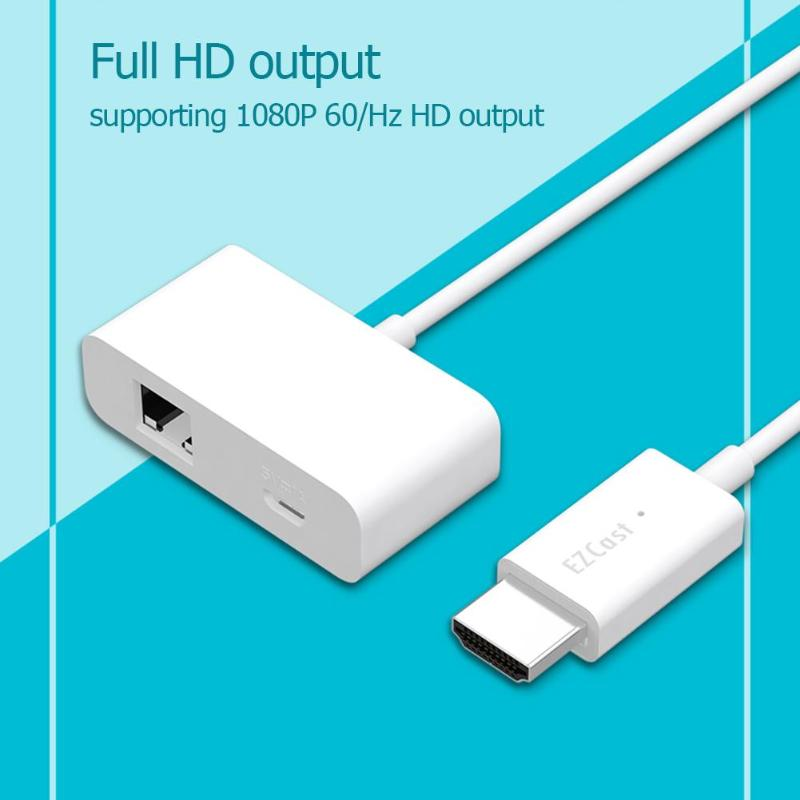 Cable de transferencia Multimedia MagicEther a HDMI inalámbrico WiFi 1080P HD cable adaptador de espejo de pantalla para Android iOS Windows Mac