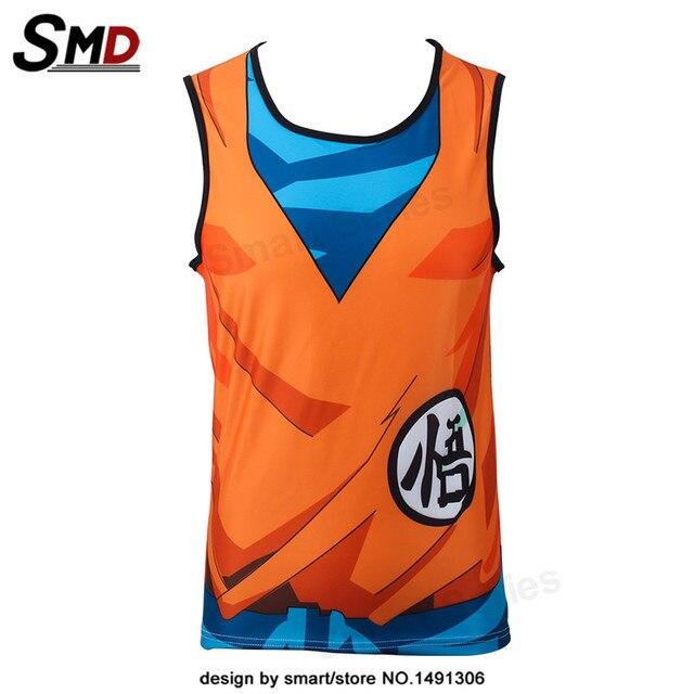 Dragon Ball Z Tank Tops Vegeta Style Jersey