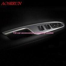 Авто-Стайлинг ABS дверь подлокотник панель Крышка отделка окна стекло кнопки подъема рамка модлинг гарнир для KIA Optima K5 интерьер