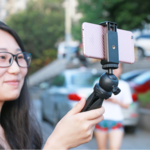 Image 2 - Ulanzi Mini Tripod for Phone,Travel Tripod with Detachable Ballhead for iPhone Samsung Canon Nikon GoPro 6 Smooth Q Smooth 4 DJI