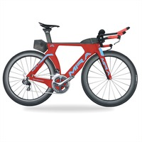 Triathlon Bike Carbon TT R8060 Di2 TRP carbon brake700x25c Time trial carbon bicycle