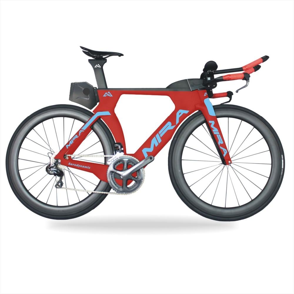 Triathlon Bike Carbon TT R8060 Di2 TRP carbon brake700x25c Time trial carbon bicycle