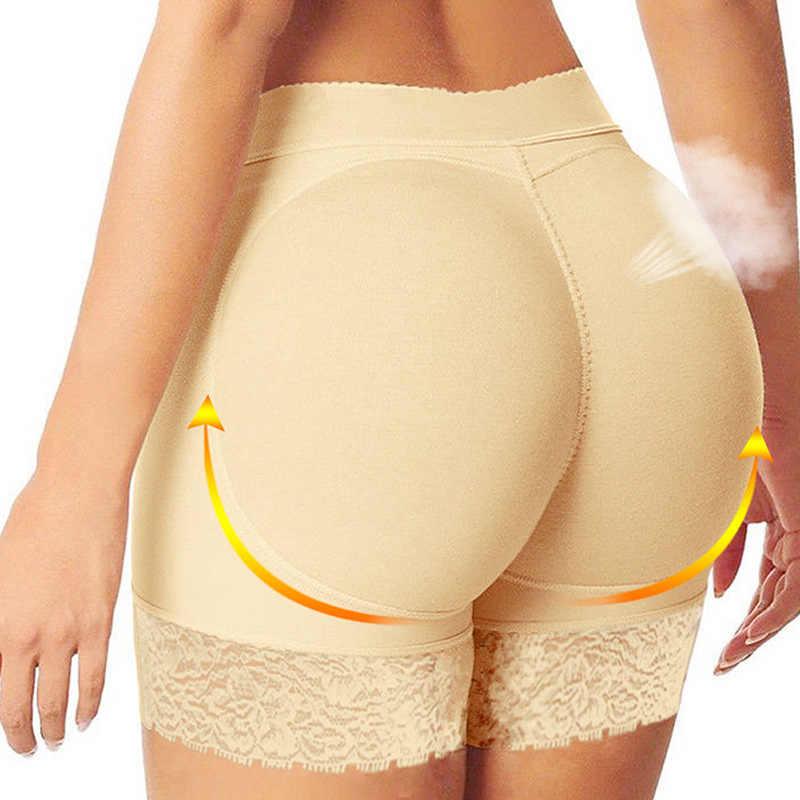 UK Women Butt Lifter Padded Bum Enhancer Underwear Shapers Booty Pants Knickers