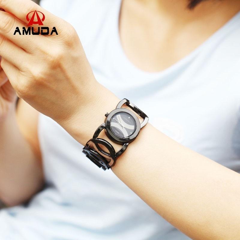 Luxury-Brand-Fashion-Black-Women-Quartz-Watch-Women-Bracelet-Watch-Clock-Ladies-Dress-Watches-relogio-feminino (3)