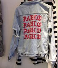 Schwamm mäuse Kanye West Denim Jacke Top Qualität Pablo Denim jacken Männer Hip-hop-kleidung Streetwear Jeans Jacken Ich Fühle Mich wie