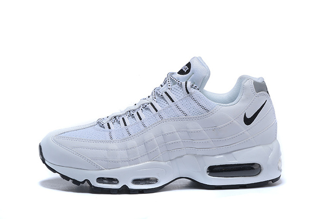 on sale 8faaa adbb7 Nike 95 Air Max Men Running Shoes Nike Air Max 95 OG QS Men s Running Shoes  Breathable Sport Outdoor Sneakers For Men White