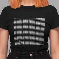 kuakuayu HJN Men Shouldn't Be Making Laws About Women's Bodies Slogan T-Shirt Women's Human Right Tee Feminist Shirt