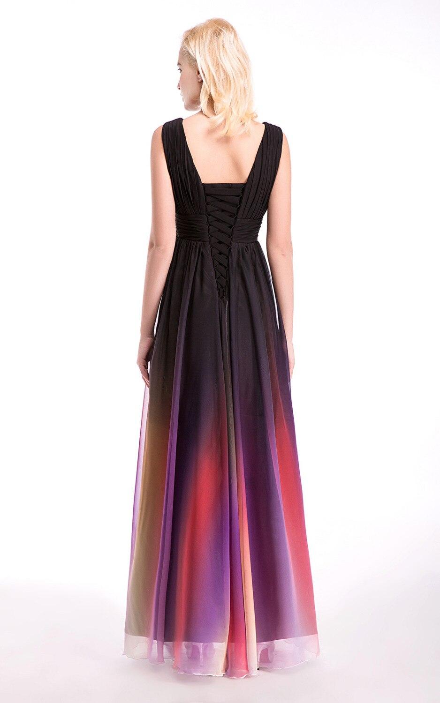 Šifon Vjenčanje party djeveruša haljina vestido de dama de honra - Vjenčanje večernje haljine - Foto 4