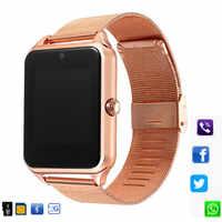 Reloj inteligente Z60 con tarjeta Sim Bluetooth reloj inteligente Z60 reloj inteligente PK GT08 Plus reloj inteligente