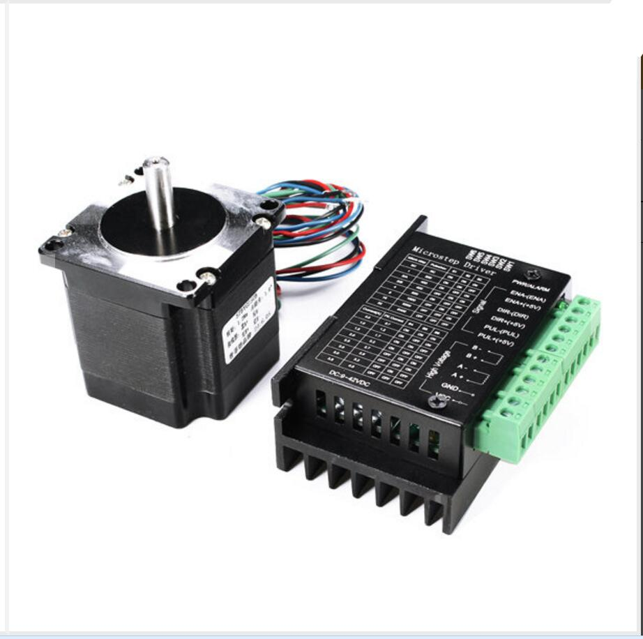 DuoWeiSi 3D Printer Parts 57BYG250B 3A Two-phase 1.2Nm Single Axis 57 Stepper Motor + TB6600 4A 3200 Subdivision Driver Kit duoweisi 3d printer parts cubieboard3 a20 dual core development board cubietruck kit